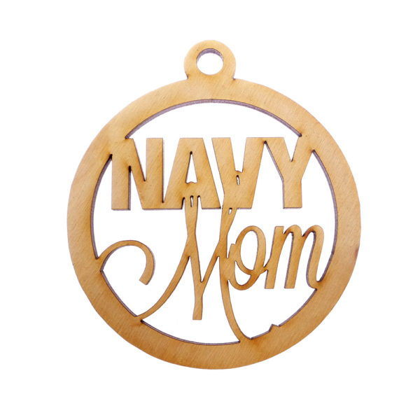 Navy Mom Ornament