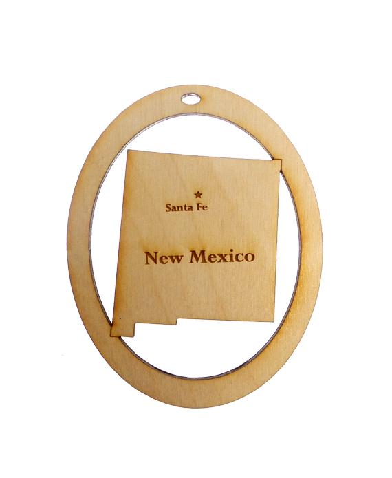 Personalized New Mexico Ornament