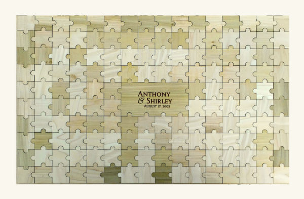 Personalized Guestbook Puzzle - 153pc