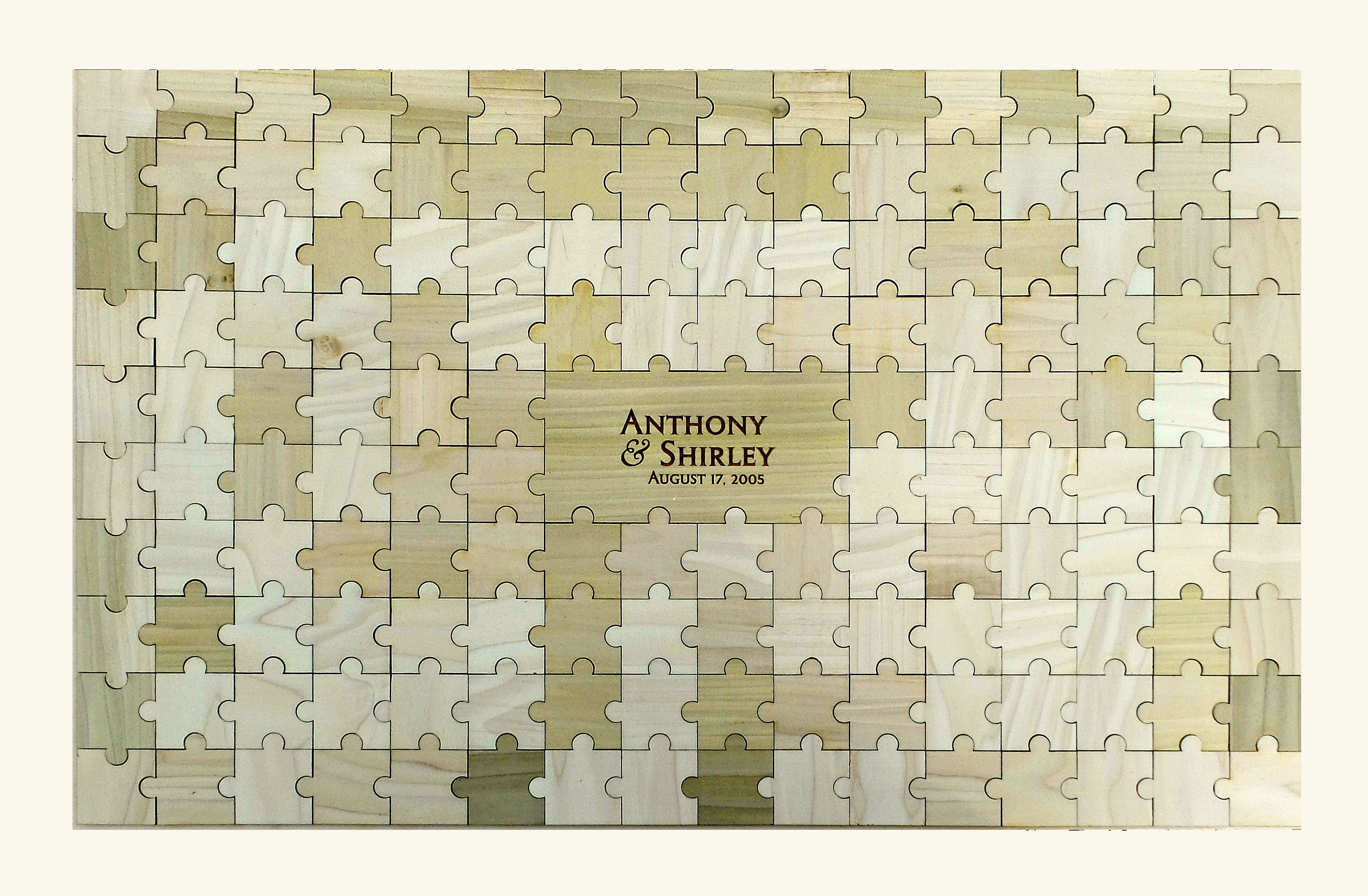 Wedding Puzzle Guest Book | 153 pc Wedding Guest Book Ideas