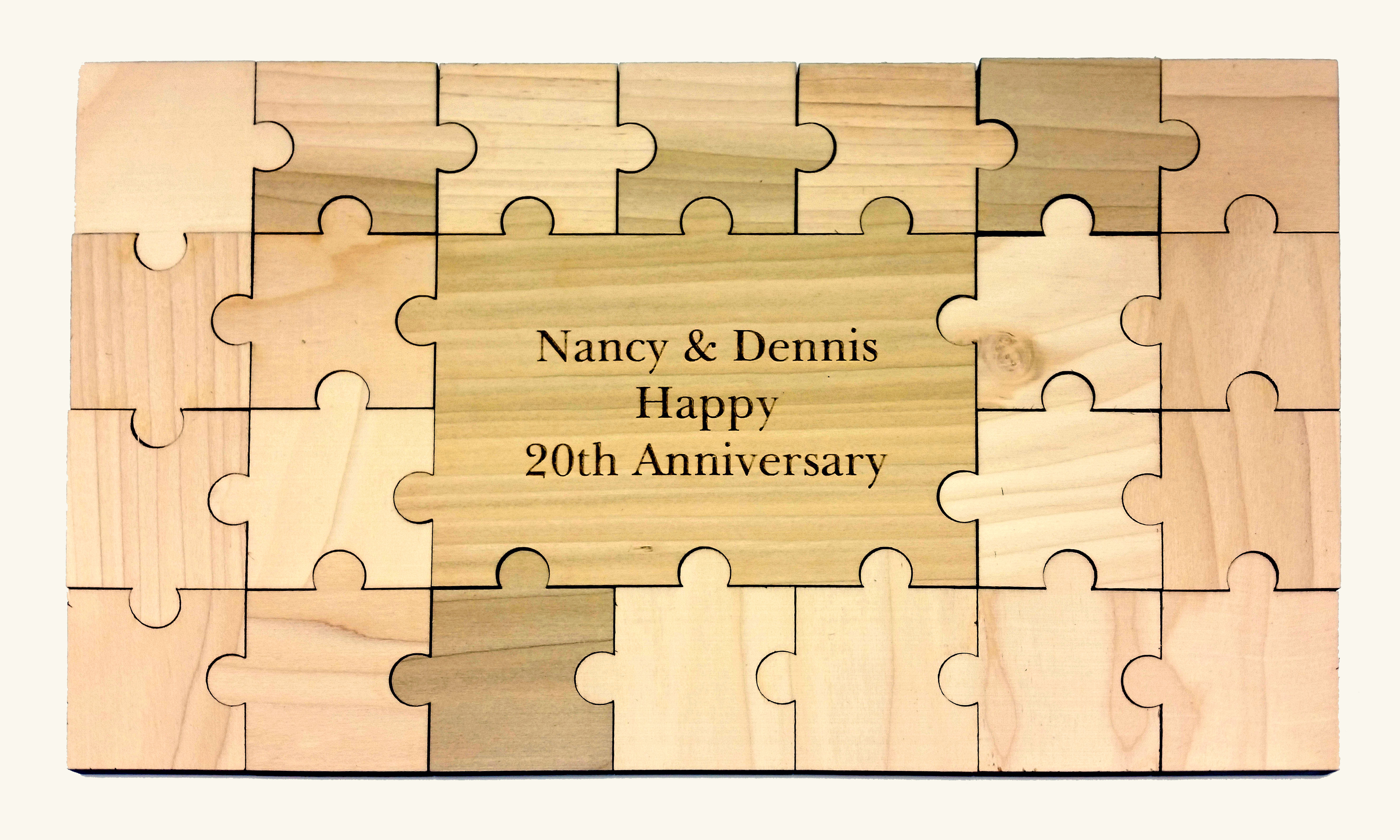 Personalized Guestbook Puzzle – 23pc