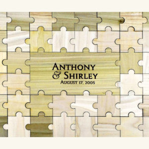 Personalized Guestbook Puzzle - 65pc
