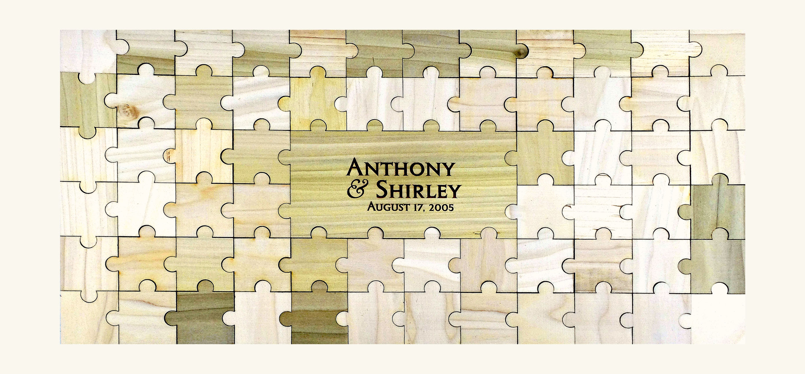 Personalized Guestbook Puzzle – 65pc