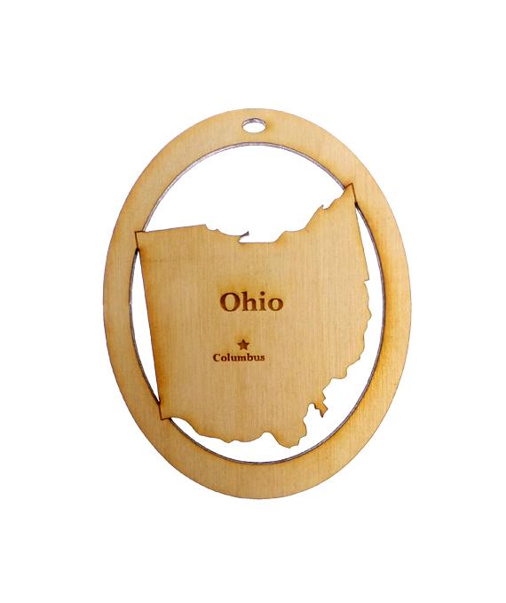 Personalized Ohio Ornament