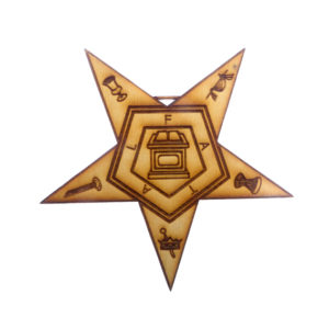 Eastern Star Ornament