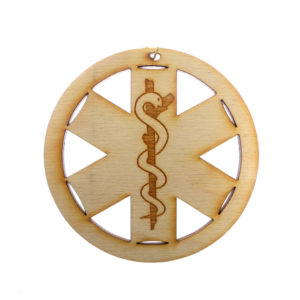 EMS Star of Life Ornament