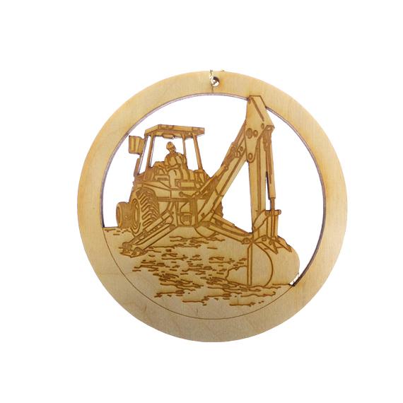Backhoe Driver Ornament