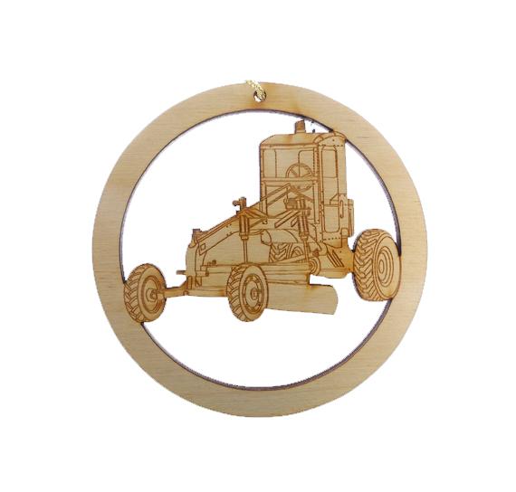 Heavy Equipment Operator Ornament