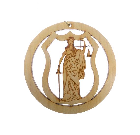 Lawyer Judge Ornament