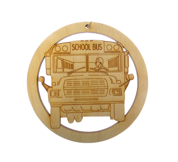 School Bus Driver Ornament Male