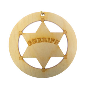 Sheriff Ornament