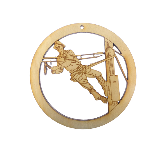 Lineman Ornament