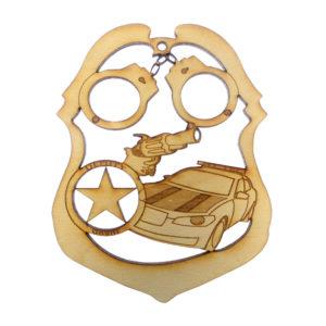 Deputy Sheriff Ornament