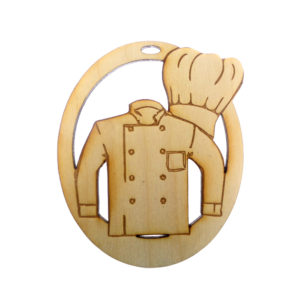 Personalized Chef Ornament