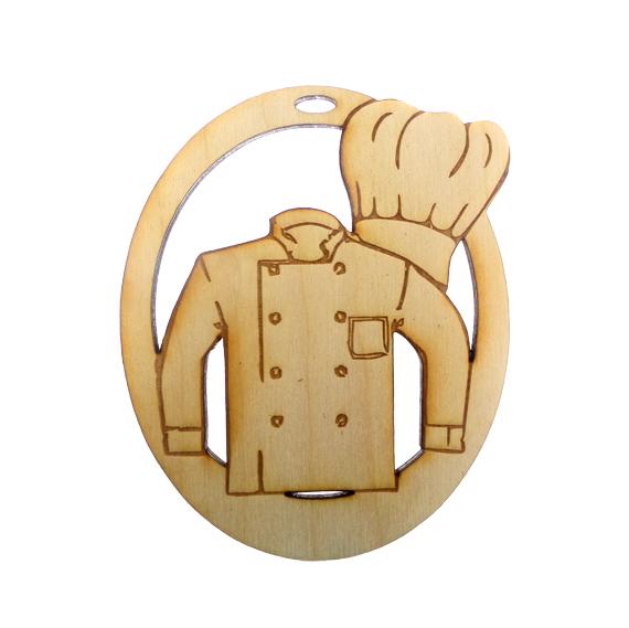 Personalized Chef Ornament