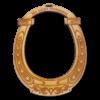 Personalized Horseshoe Ornament
