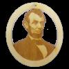 Personalized Lincoln Ornament