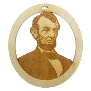 Personalized Lincoln Ornament
