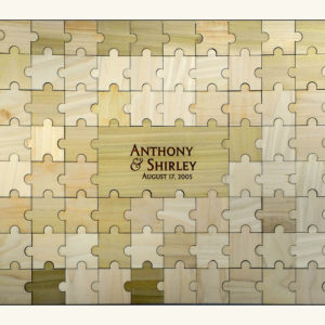 Personalized Guestbook Puzzle - 105pc