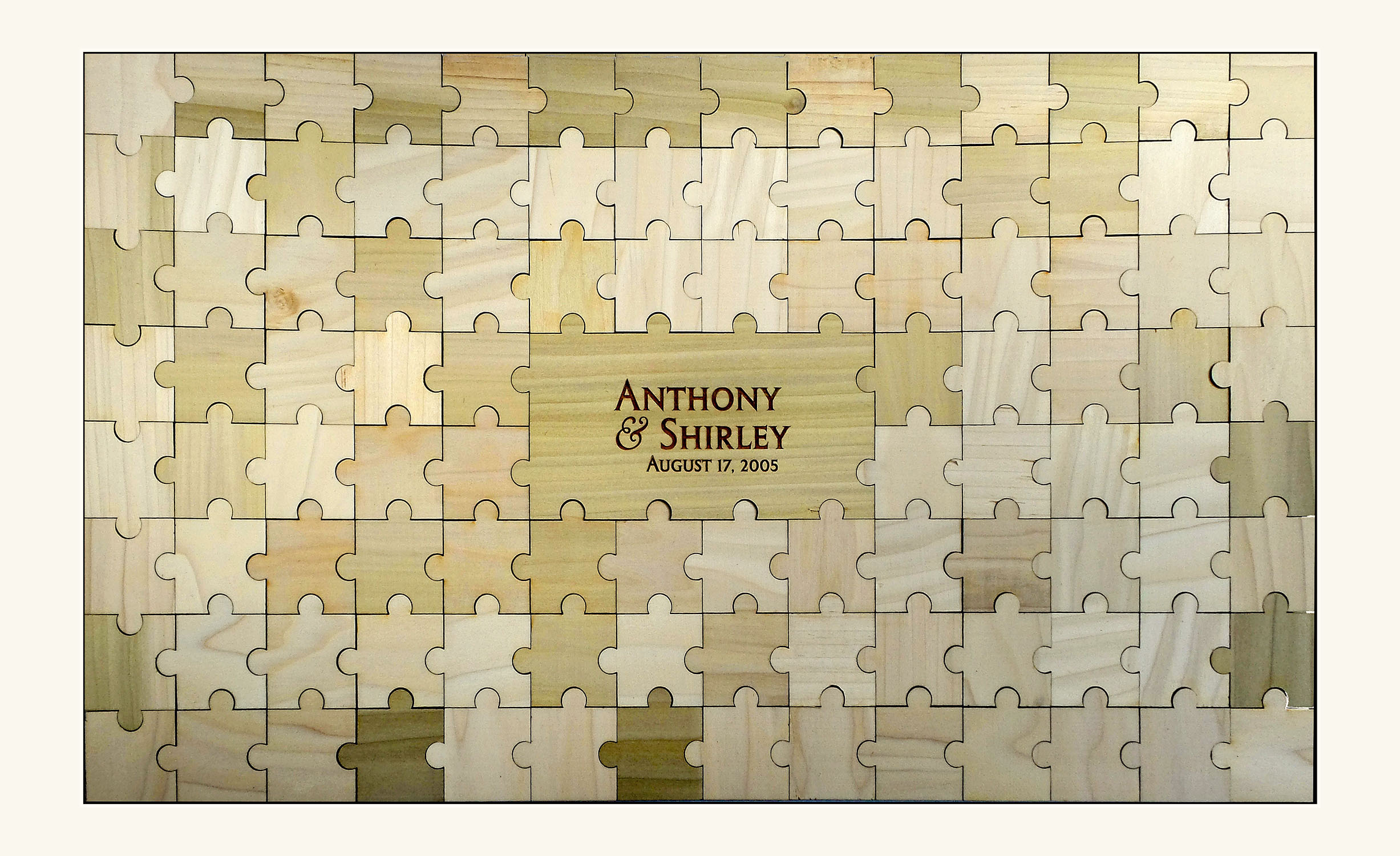 Personalized Guestbook Puzzle – 105pc