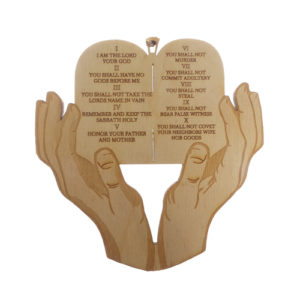 Ten Commandments Ornament