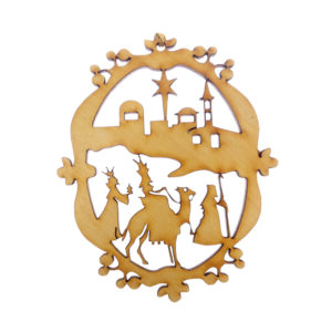 Ornate Wisemen Ornament