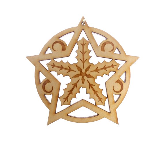 Snowflake Ornament Holly