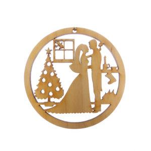 Bride Groom Christmas Ornament