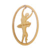 Personalized Ballet Dancer Ornament