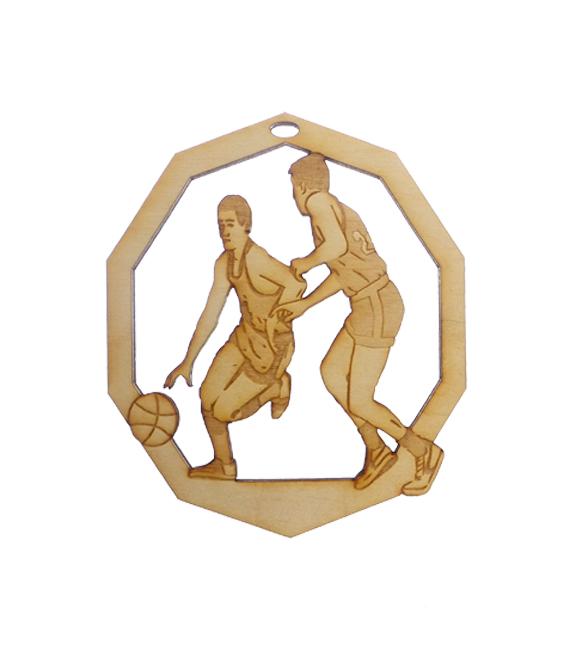 Mens BasPersonalized Basketball Ornamentketball Ornament