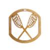 Personalized Lacrosse Ornament