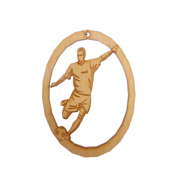 Personalized Soccer Ornament for Men
