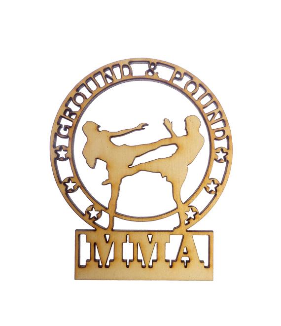 Personalized MMA Ornament
