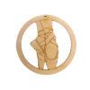 Personalized Ballet Shoes Ornament