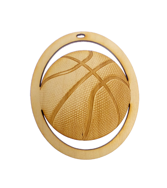 Personalized Basketball Ornament
