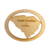 Personalized South Carolina Ornament