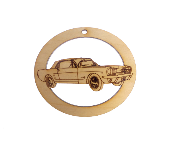 Personalized Classic Mustang Ornament