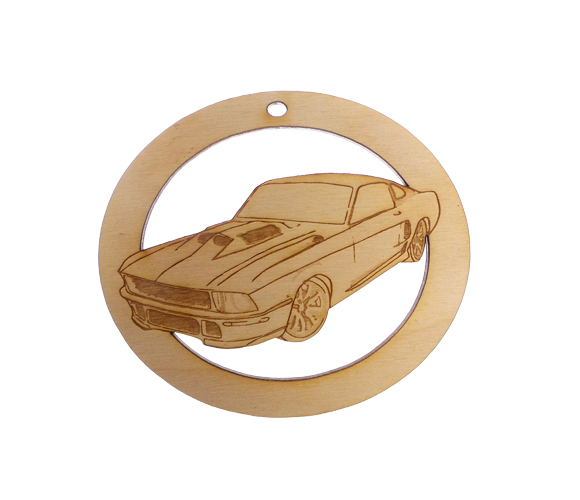 Personalized Mustang Ornament