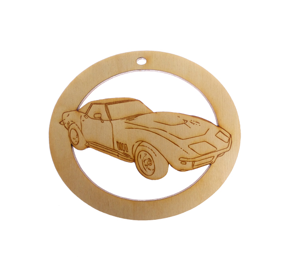 Personalized Classic Corvette Ornament