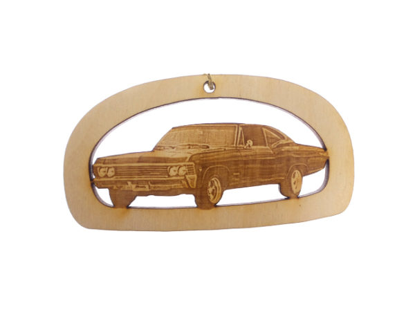 Personalized 1967 Chevy Impala Ornament