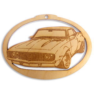 Personalized 1969 Camaro Ornament
