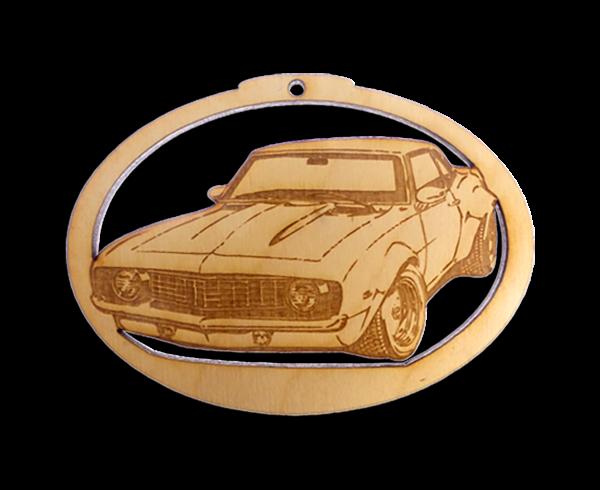 Personalized 1969 Camaro Ornament