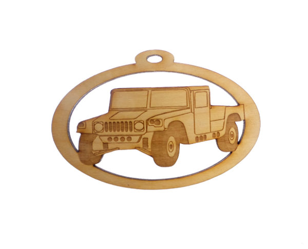 Personalized Humvee Ornament