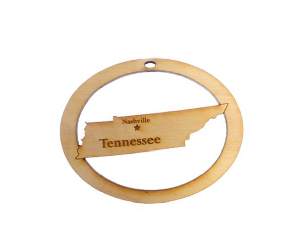 Personalized Tennessee Ornament