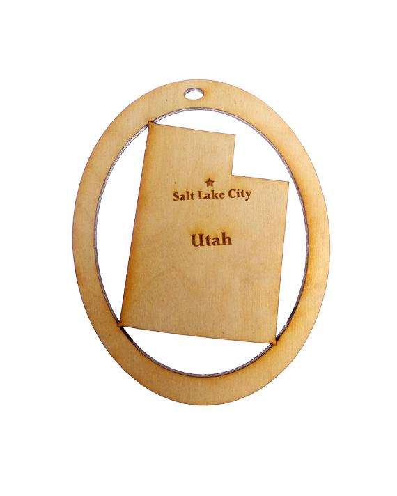 Personalized Utah Ornament