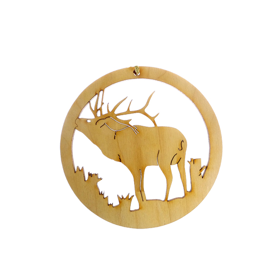 Personalized Elk Ornament