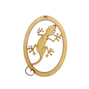 Personalized Gecko Ornament
