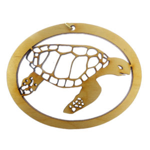 Personalized Sea Turtle Ornament