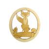 Personalized Fox Ornament