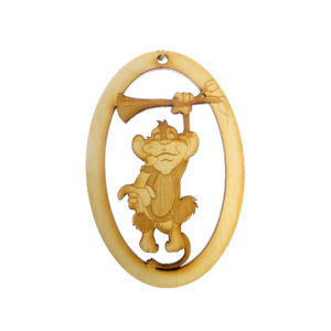 Personalized Monkey Ornament